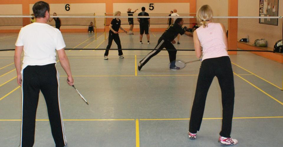 Badminton Wechselbild Startseite